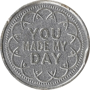 Token - My Two Cents (You made my day) – obverse