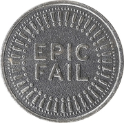 Token - My Two Cents (Epic fail) – obverse