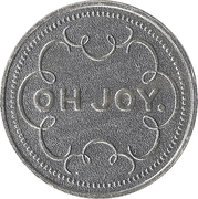 Token - My Two Cents (Oh joy.) – obverse