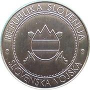 Token - Slovenska vojska (Gorska Šola) – reverse