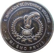 Token - Slovenska vojska (1. Brigada Slovenske Vojske) – reverse