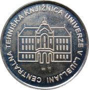 Token - Centralna Tehniška Knjižnica (Ljubljana) – obverse