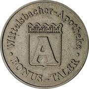 Bonus-Taler - Wittelsbacher Apotheke (Aichach) – obverse