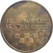 Arcade Token - Du Vieux Montréal – reverse