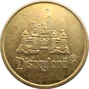 Locker Token - Disneyland – obverse