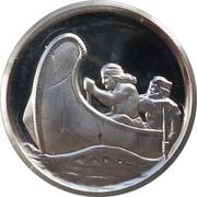 Medal - Northwest Territories Centennial – reverse