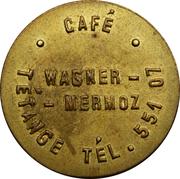 Token - Café Wagner-Mermoz (Tétange) – obverse
