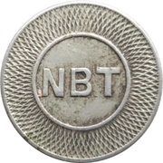 Token - New Britain Transportation (New Britain, Connecticut) – obverse