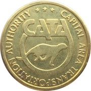 1 Fare - Capital Area Transportation Authority (Lansing, Michigan) – obverse