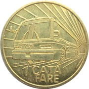 1 Fare - Capital Area Transportation Authority (Lansing, Michigan) – reverse