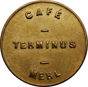 Token - Café Terminus (Luxembourg) – obverse