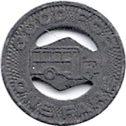 1 Fare - Elkhart Motor Coach Corp'n (Elkhart, Indiana) – reverse