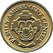 Token - Family Amusement Center – obverse