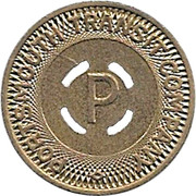 1 Fare - Portsmouth Transit Company (Portsmouth, Virginia) – obverse