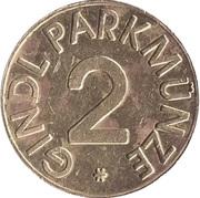 Parking Token - Gindl Parkmunze (2) – reverse
