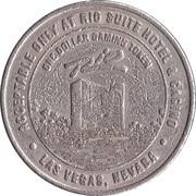 1 Dollar Gaming Token - Rio Casino (Las Vegas, Nevada) – obverse
