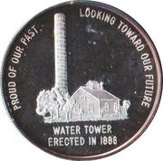 Token - Edgar, Nebraska Centennial – reverse