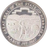 Token - Nebraska Centennial (The State Seal) – obverse