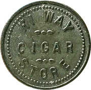 5 Cents - Hi Way Cigar Store (Eagle, Idaho) – obverse