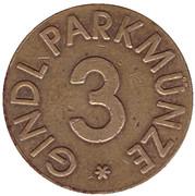 Parking Token - Gindl Parkmunze (3) – obverse