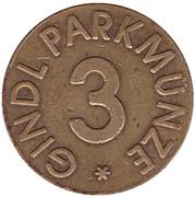 Parking Token - Gindl Parkmunze (3) – reverse