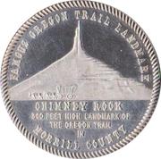 Token - Nebraska Centennial (Morrill County) – obverse