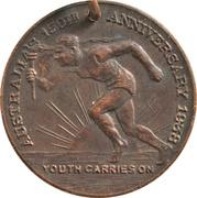 Medal - Australia 150th Anniversary – obverse