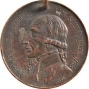 Medal - Australia 150th Anniversary – reverse