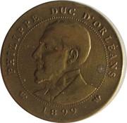 Token - Module 10 Centimes (Philippe Duc d'Orleans) – obverse