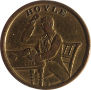 Gambling Token - Keep Your Temper – obverse