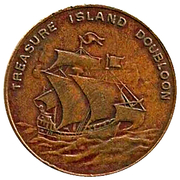 Treasure Island Doubloon (Sequicentennial Philadelphia) – reverse