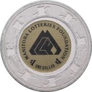 1 Dollar - Manitoba Lotteries Foundation – obverse