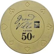 50 Cents - Grand Villa Casino (Burnaby, British Columbia) – reverse