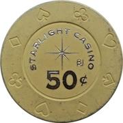 50 Cents - Starlight Casino (New Westminster, British Columbia) – reverse