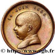 Token - Birth of Napoleon IV – reverse
