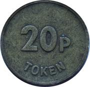 20 Pence Token – obverse
