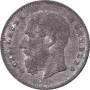 1 Francs - Léopold II (Lauer Imitation Nürnberg) – obverse