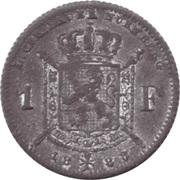 1 Francs - Léopold II (Lauer Imitation Nürnberg) – reverse
