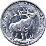 Token - Canada's Northern Wildlife (Deer) – reverse