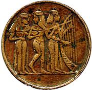 Token (Sphinx and pyramids) – reverse