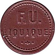 10 Centimos - F.U. Iquique – obverse