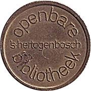 Token - Openbare Bibliotheek ('s-Hertogenbosch) – obverse