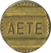 Telephone Token - AETE (B) – obverse