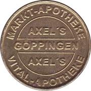 1 Bonus-Taler - Markt Apotheke & Vital Apotheke (Göppingen; Christophsbad) – obverse