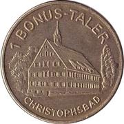 1 Bonus-Taler - Markt Apotheke & Vital Apotheke (Göppingen; Christophsbad) – reverse