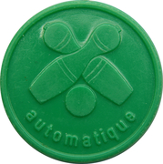 Token - Café Bonifas (Nospelt; light green) – reverse