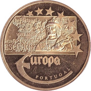 Token - Europe (Portugal - 20 Escudo) – obverse