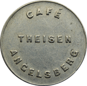 Token - Café Theisen (Angelsberg) – obverse