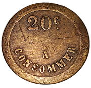 20 Centimes - A Consommer (watch) – reverse