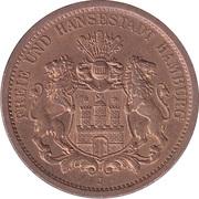 Token - 100 Jahre Hamburgische Münze – obverse